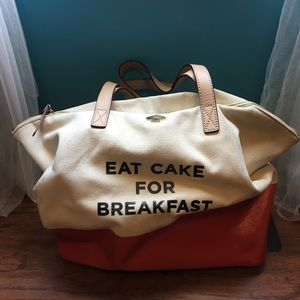 Eat Cake For Breakfast Kate Spade Tote